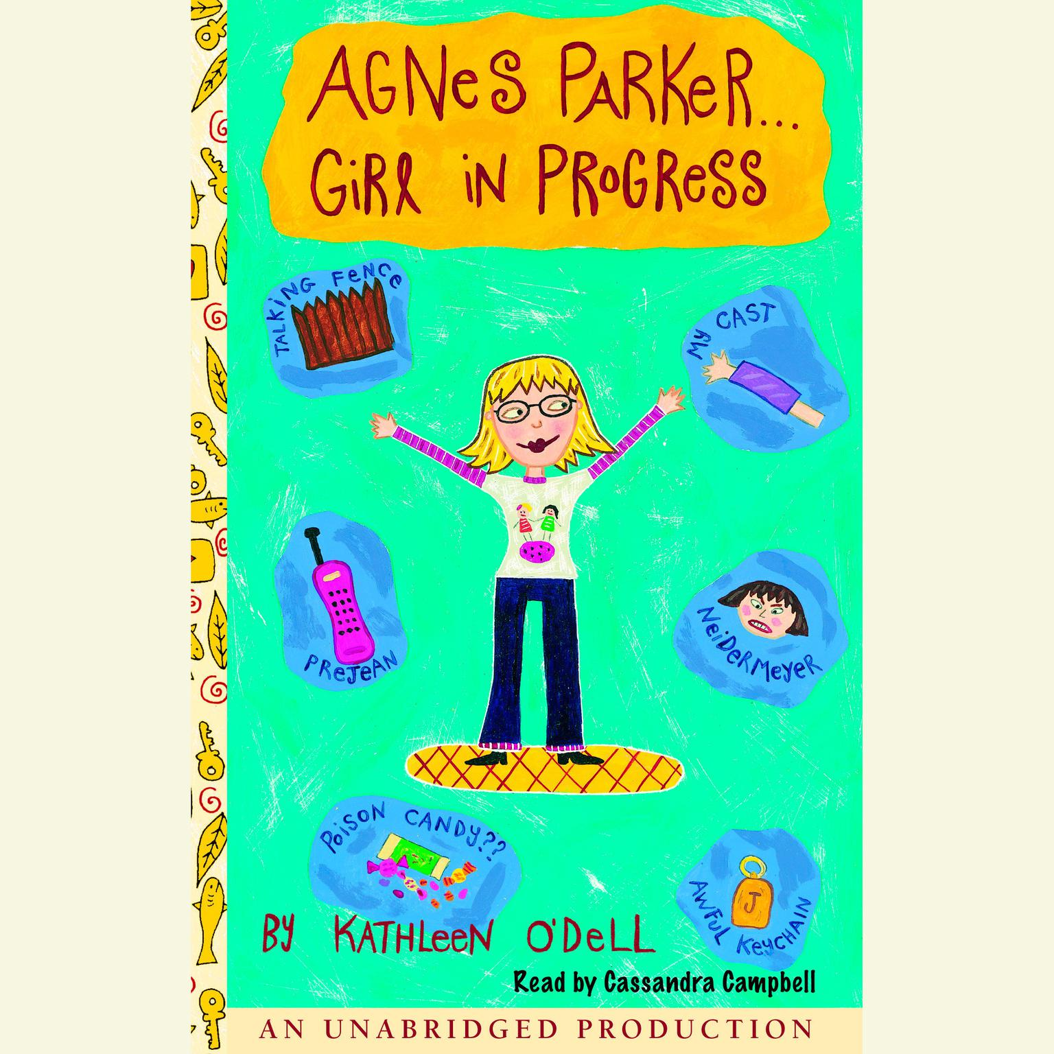 Printable Agnes Parker... Girl in Progress Audiobook Cover Art