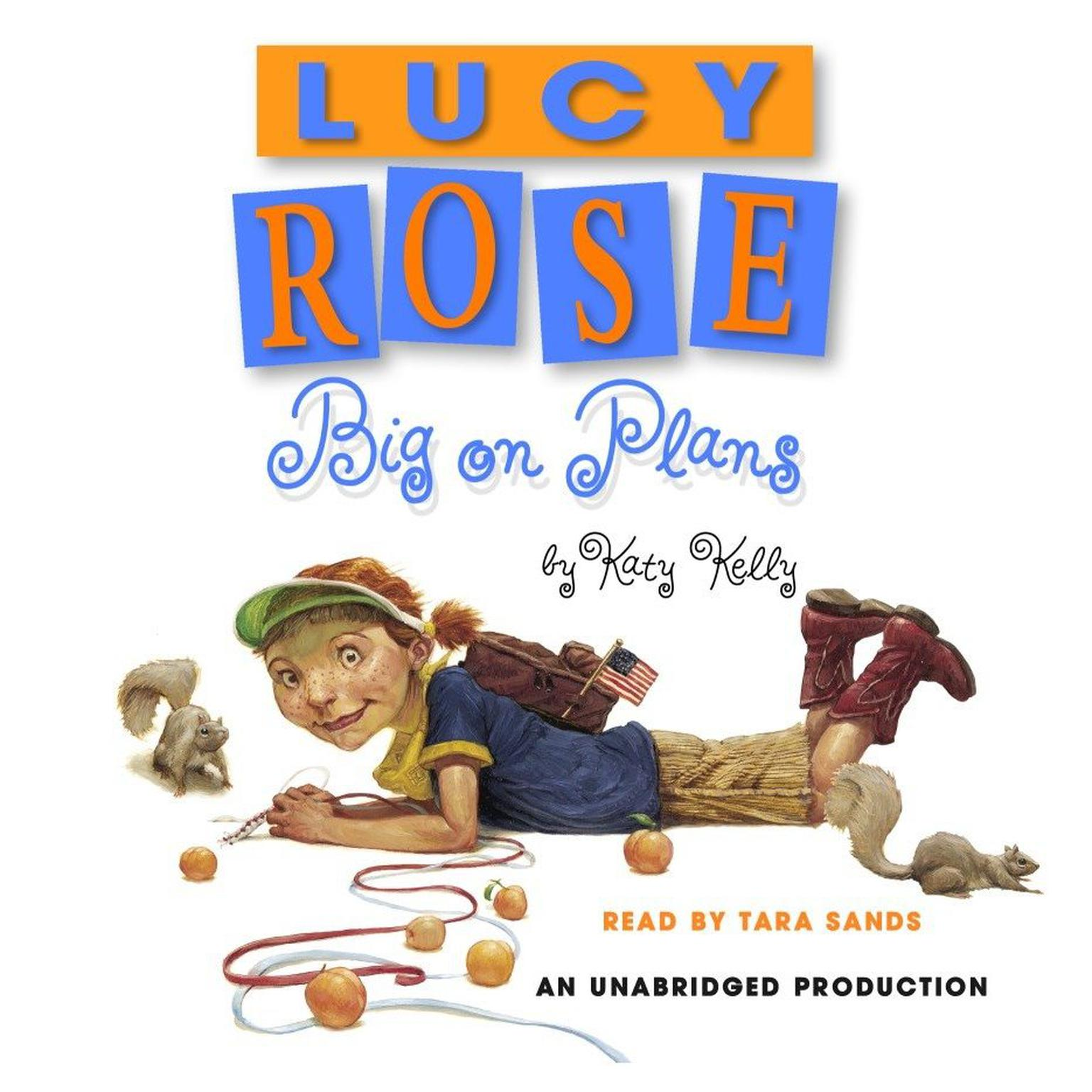 Printable Lucy Rose: Big on Plans Audiobook Cover Art