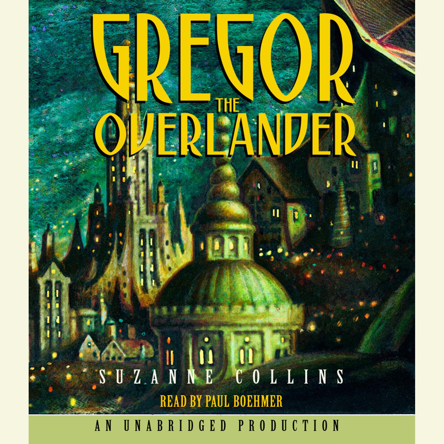 Printable The Underland Chronicles Book One: Gregor the Overlander Audiobook Cover Art