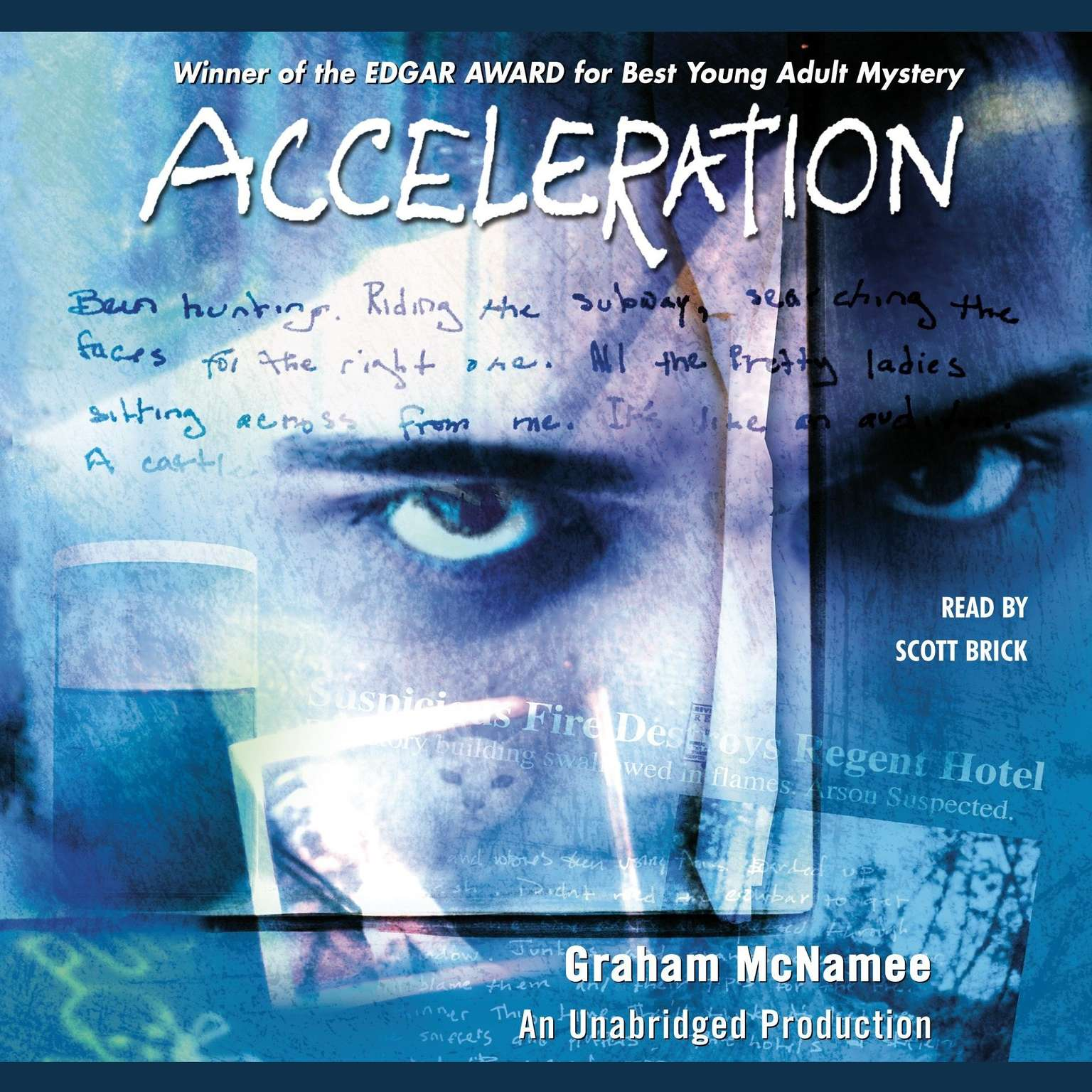 Printable Acceleration Audiobook Cover Art