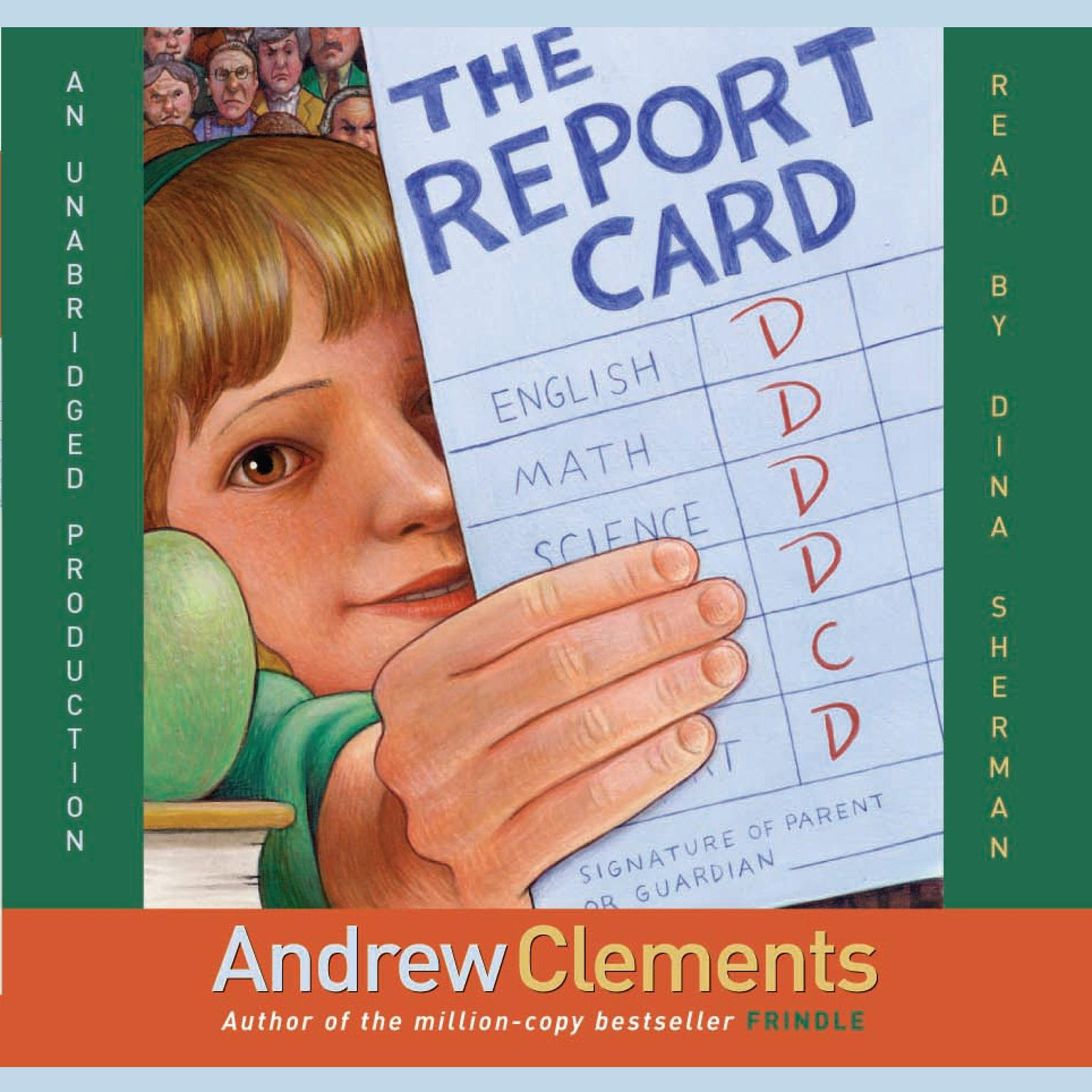 Printable The Report Card Audiobook Cover Art