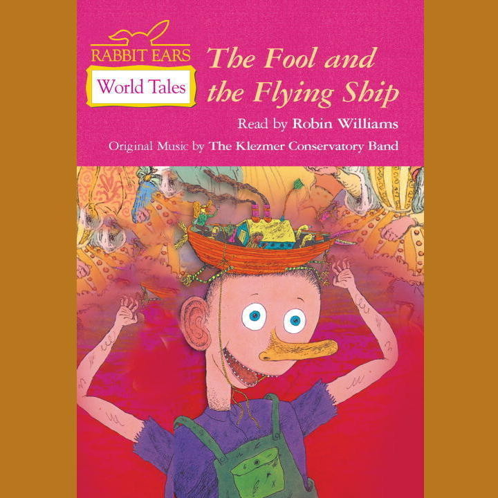 Printable The Fool and the Flying Ship Audiobook Cover Art