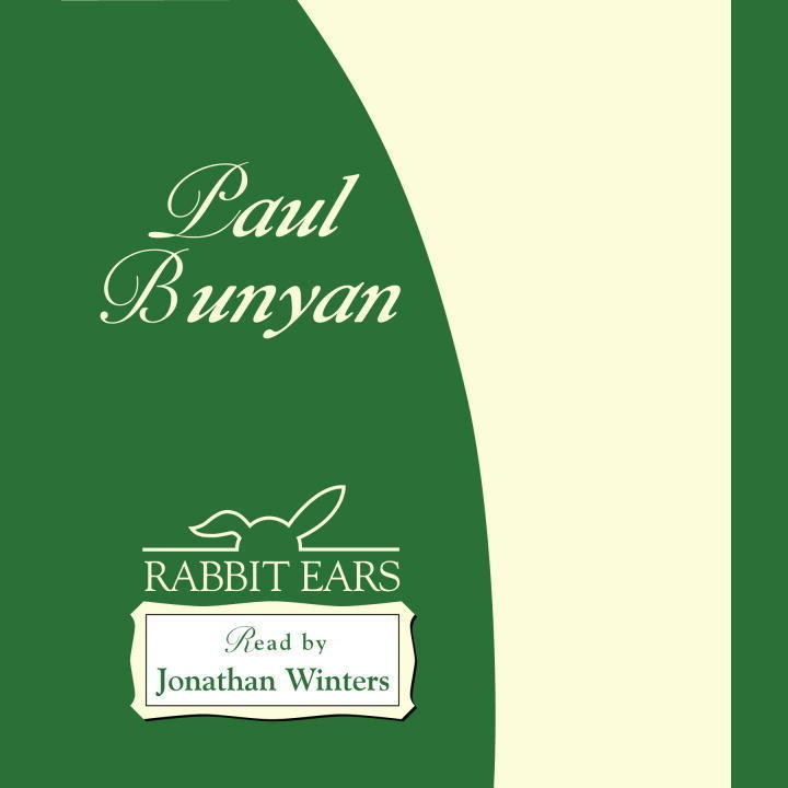 Printable Paul Bunyan Audiobook Cover Art