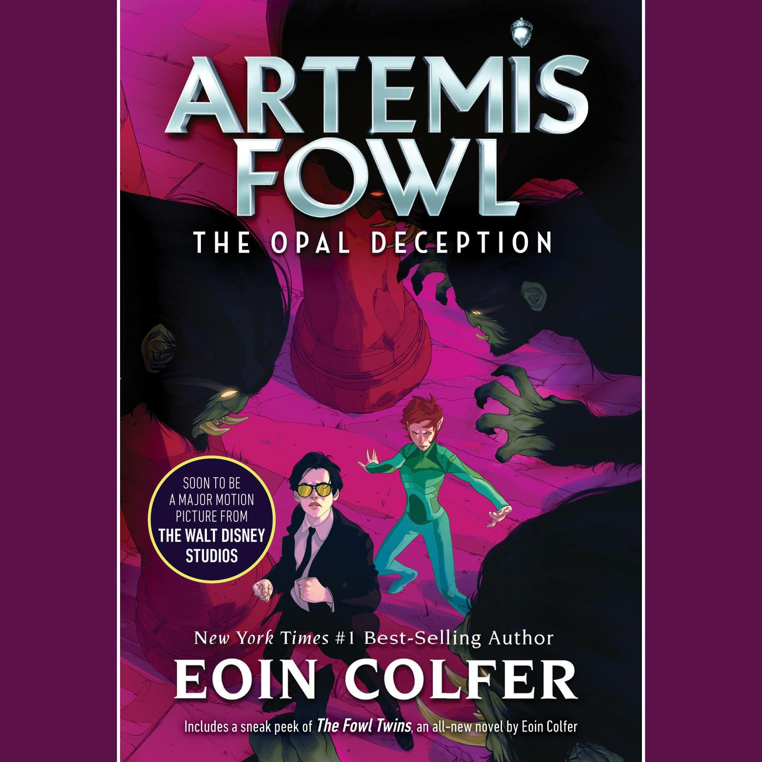 Printable Artemis Fowl 4: Opal Deception Audiobook Cover Art