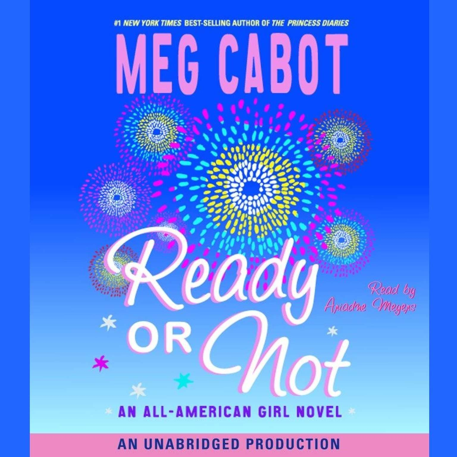 Printable Ready or Not: All-American Girl #2 Audiobook Cover Art