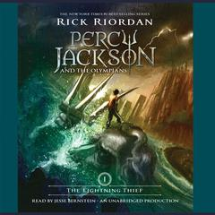 The Lightning Thief: Percy Jackson and the Olympians: Book 1 Audiobook, by
