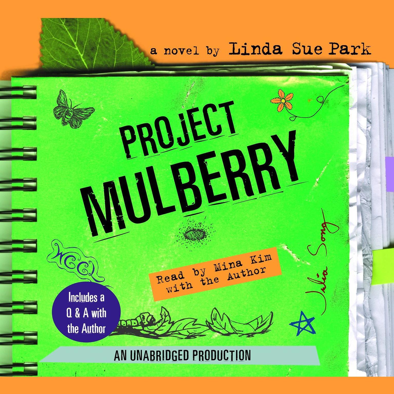 Printable Project Mulberry Audiobook Cover Art