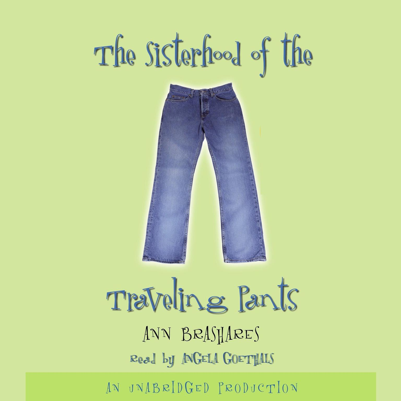 Printable Sisterhood of the Traveling Pants Audiobook Cover Art