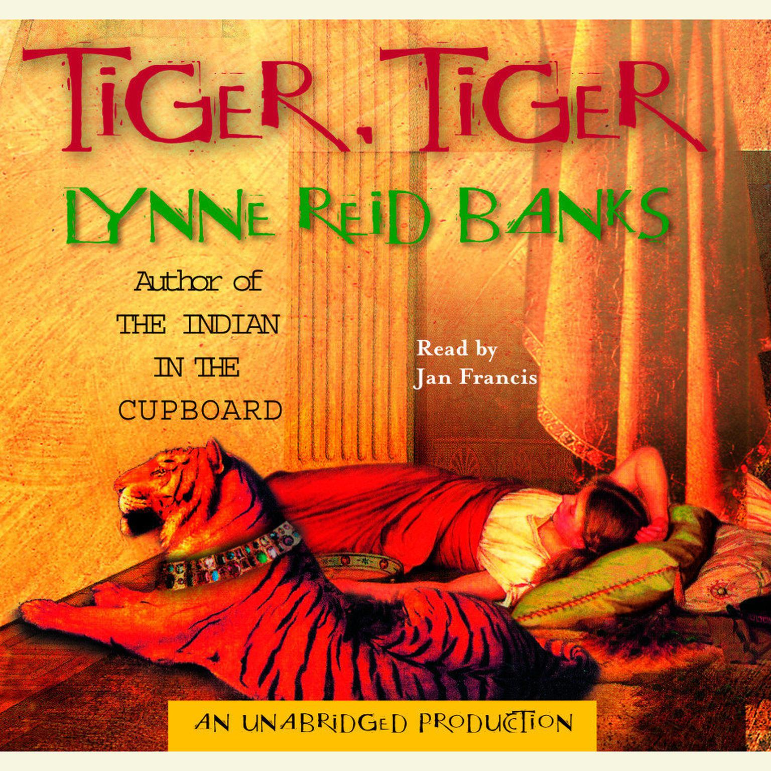 Printable Tiger, Tiger Audiobook Cover Art