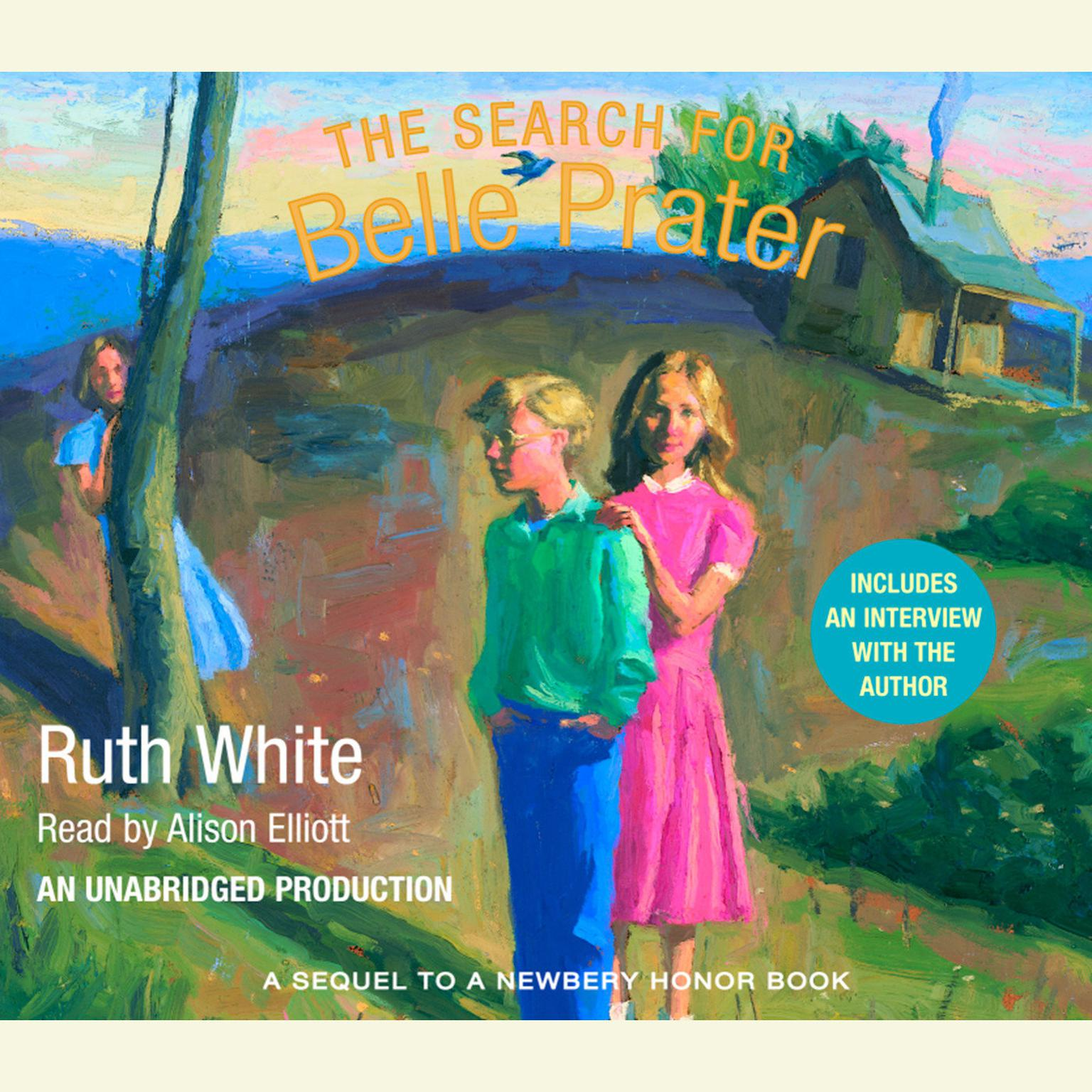 Printable The Search for Belle Prater Audiobook Cover Art