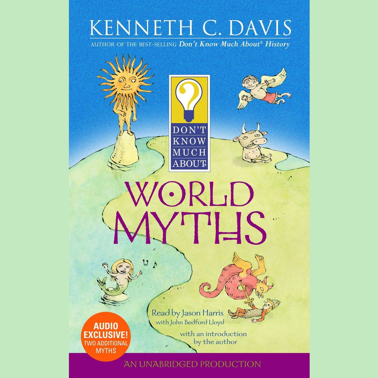 Printable Don't Know Much About World Myths Audiobook Cover Art