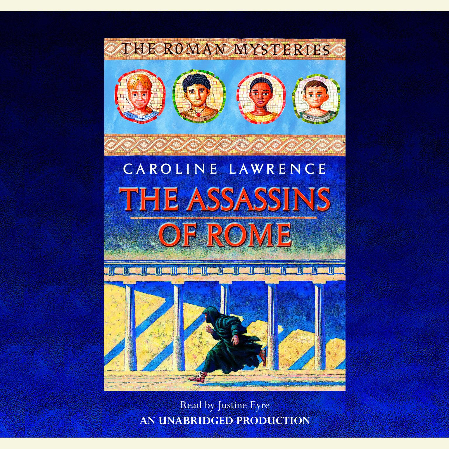 Printable The Assassins of Rome: The Roman Mysteries #4 Audiobook Cover Art