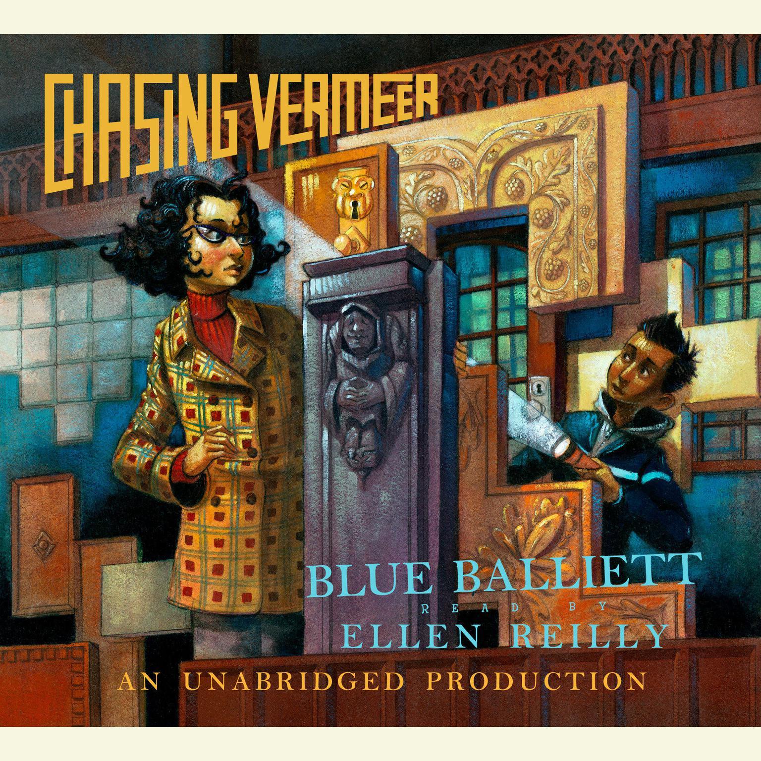 Printable Chasing Vermeer Audiobook Cover Art
