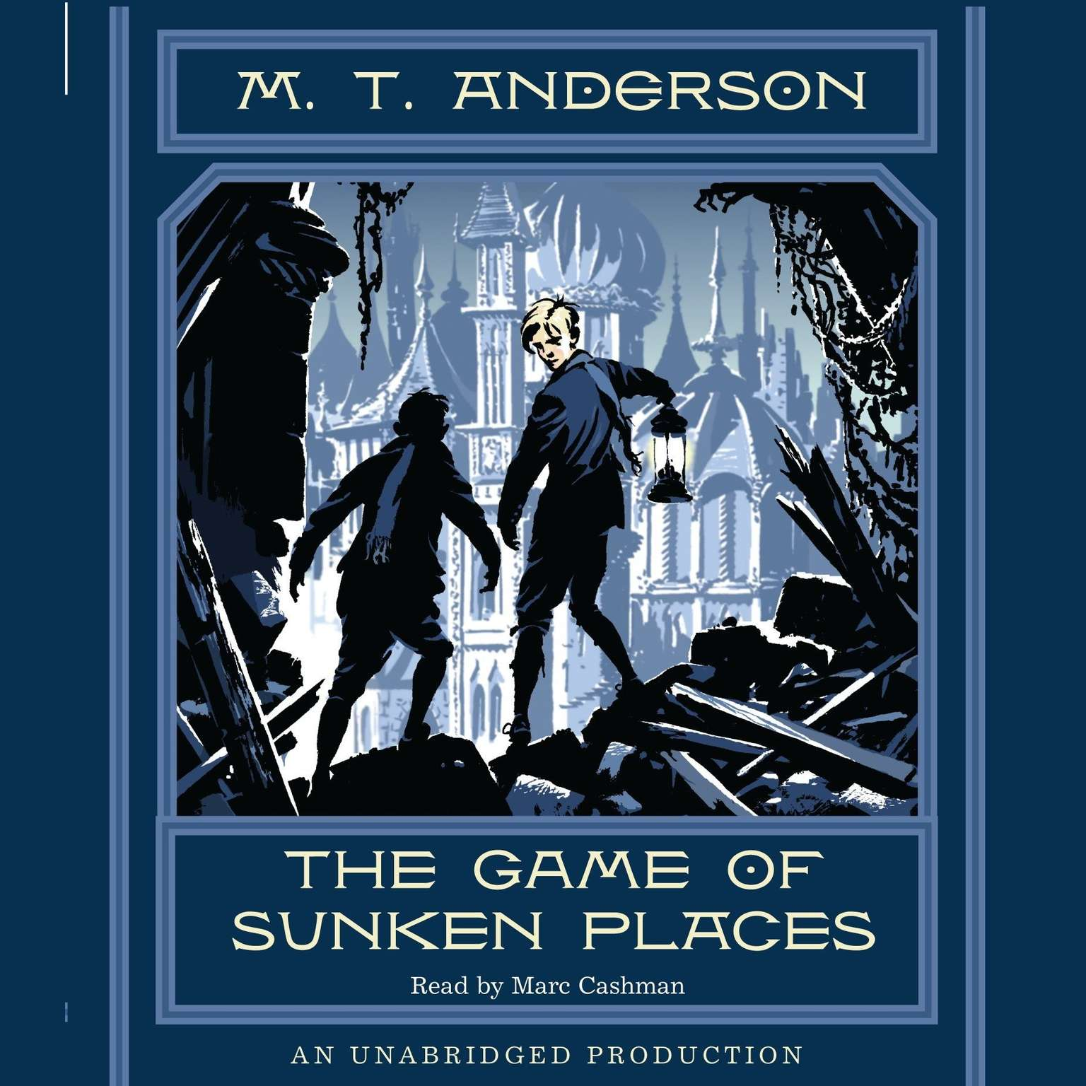 Printable The Game of Sunken Places Audiobook Cover Art