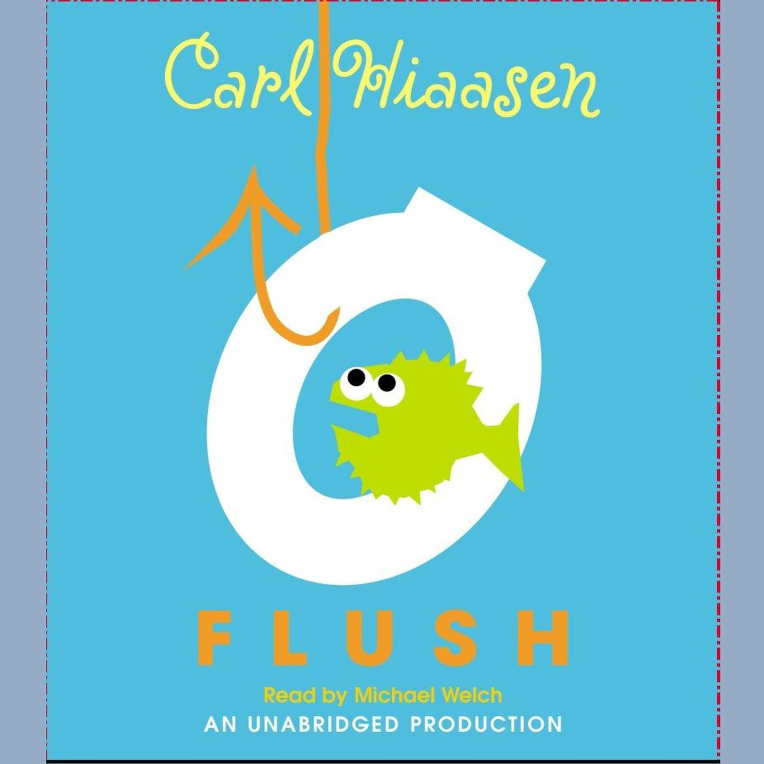 Printable Flush Audiobook Cover Art