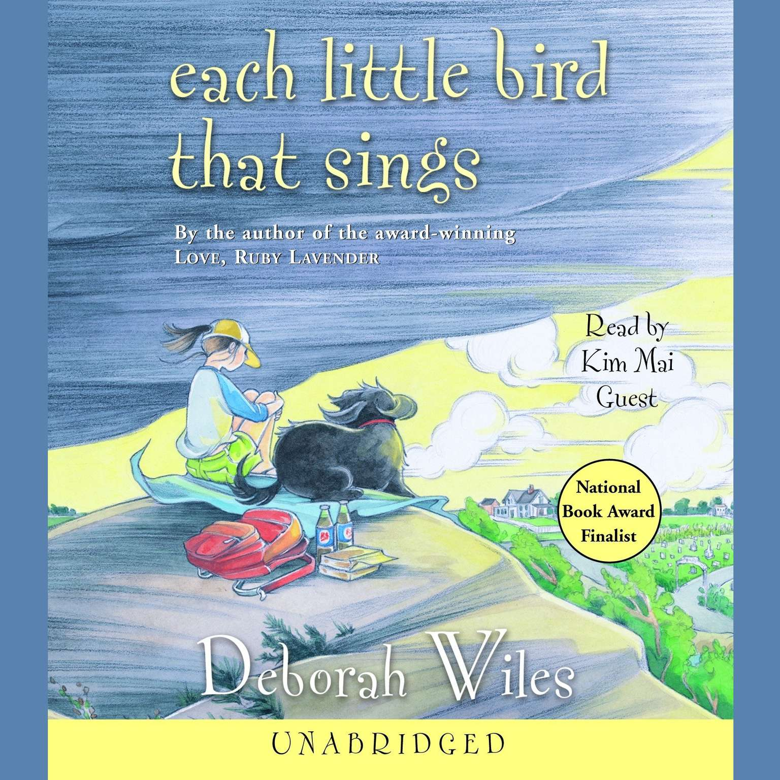 Printable Each Little Bird That Sings Audiobook Cover Art