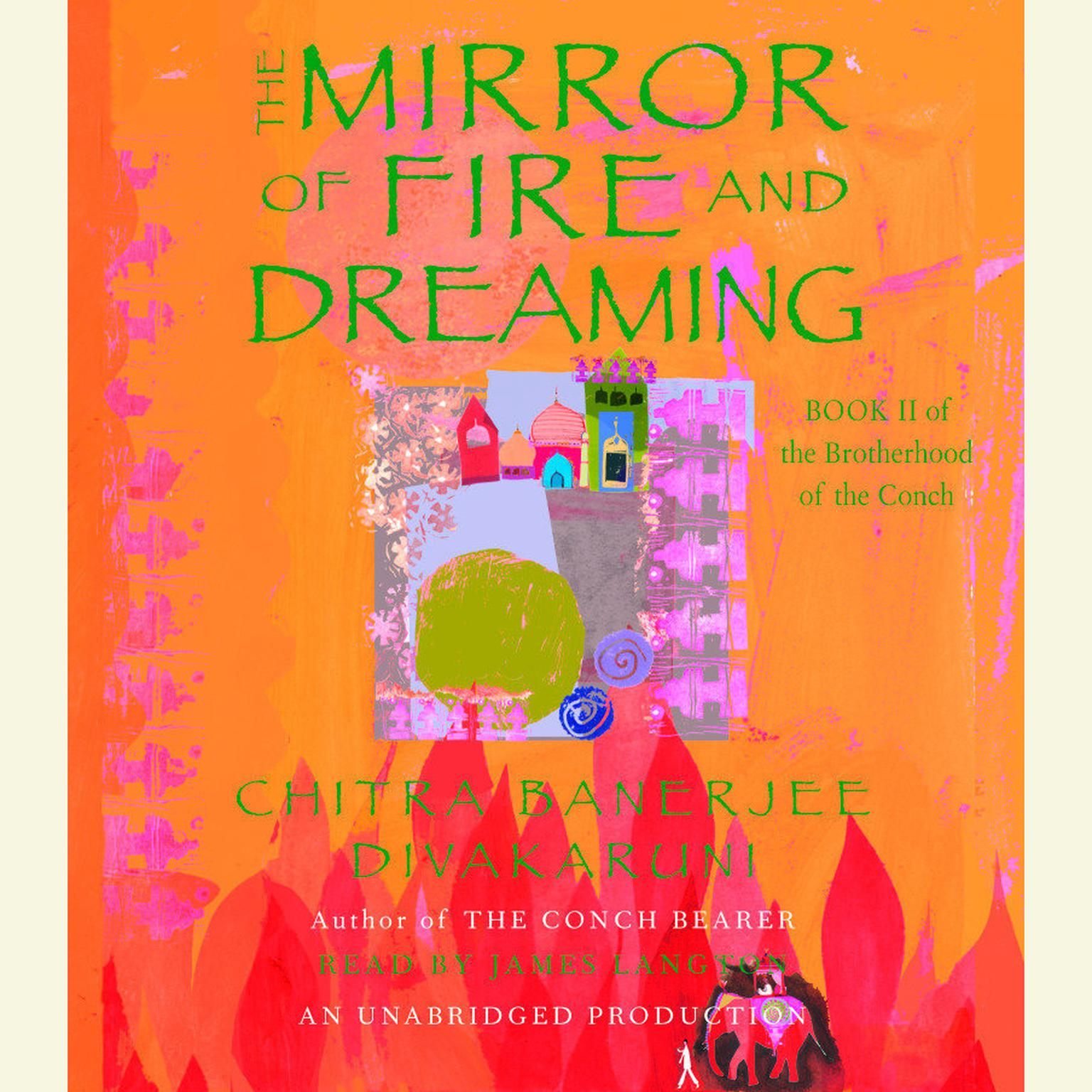 Printable The Mirror of Fire and Dreaming Audiobook Cover Art