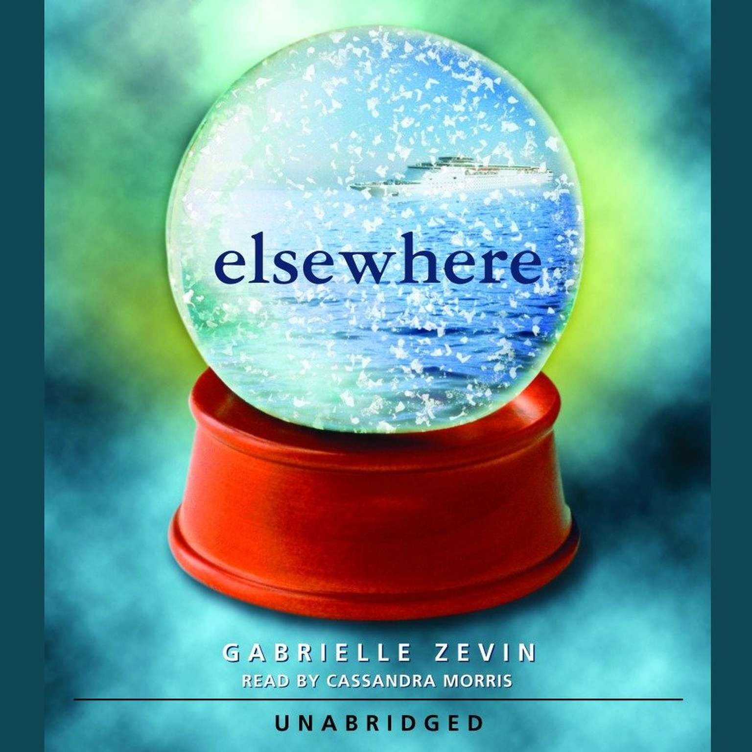 Printable Elsewhere Audiobook Cover Art