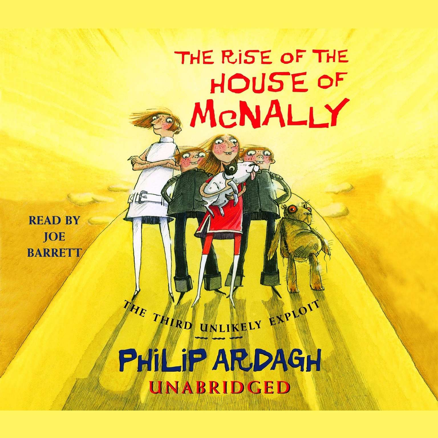 Printable The Rise of the House of McNally: The Third Unlikely Exploit Audiobook Cover Art