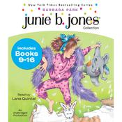 Junie B. Jones Collection: Books 9-16: Not a Crook; Party Animal; Beauty Shop Guy; Smells Something Fishy; (Almost) a Flower Girl; Mushy Gushy Valentine; Peep in Her Pocket; Captain Field Day, by Barbara Park