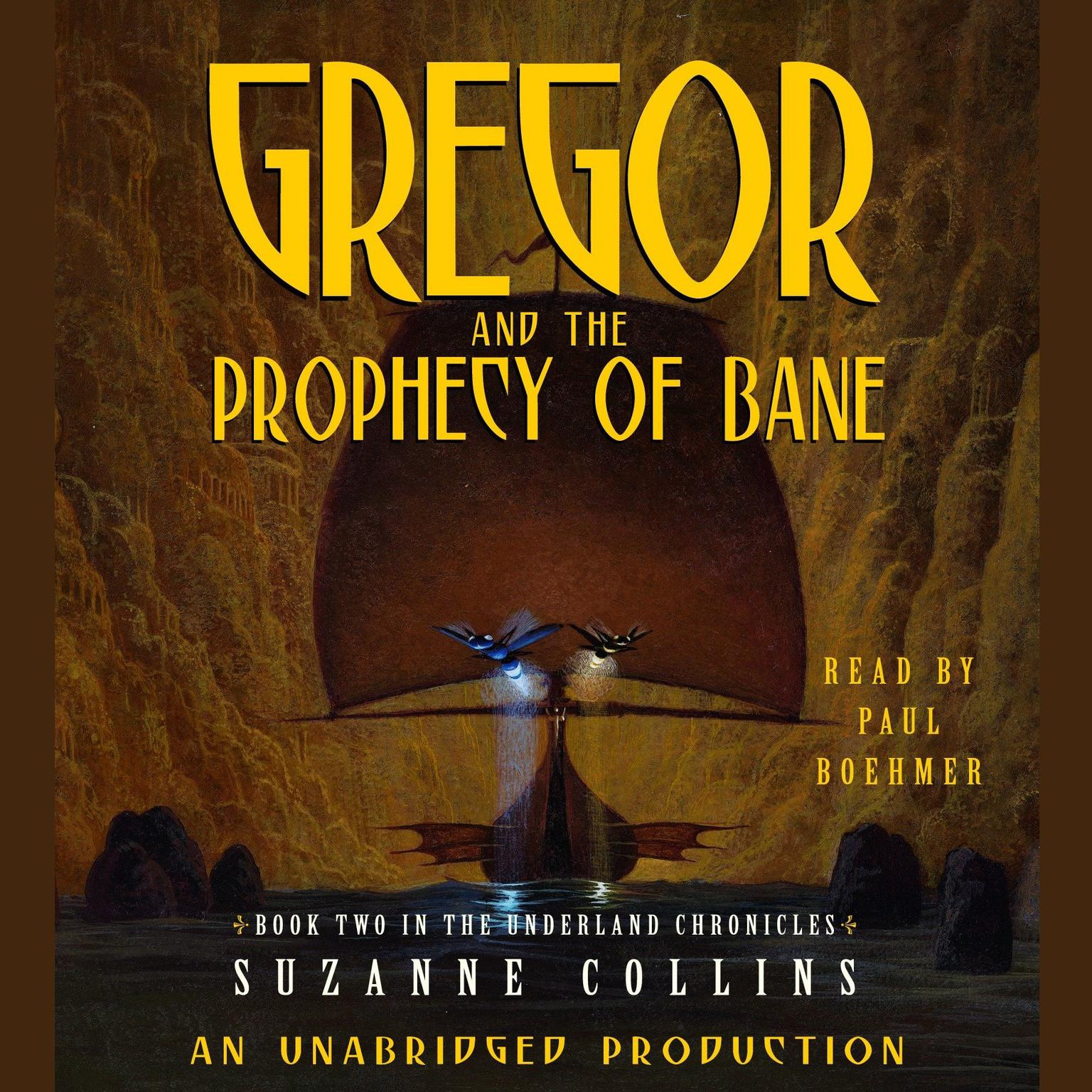 Printable Gregor and the Prophecy of Bane Audiobook Cover Art