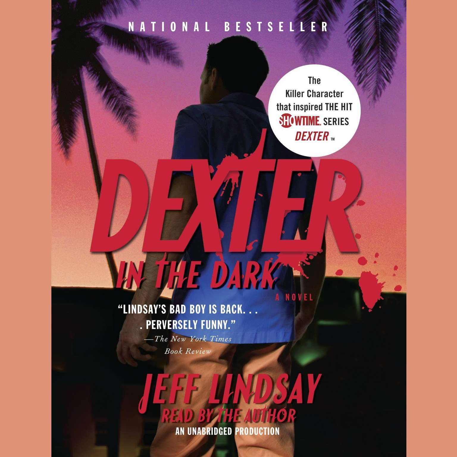 Printable Dexter in the Dark Audiobook Cover Art