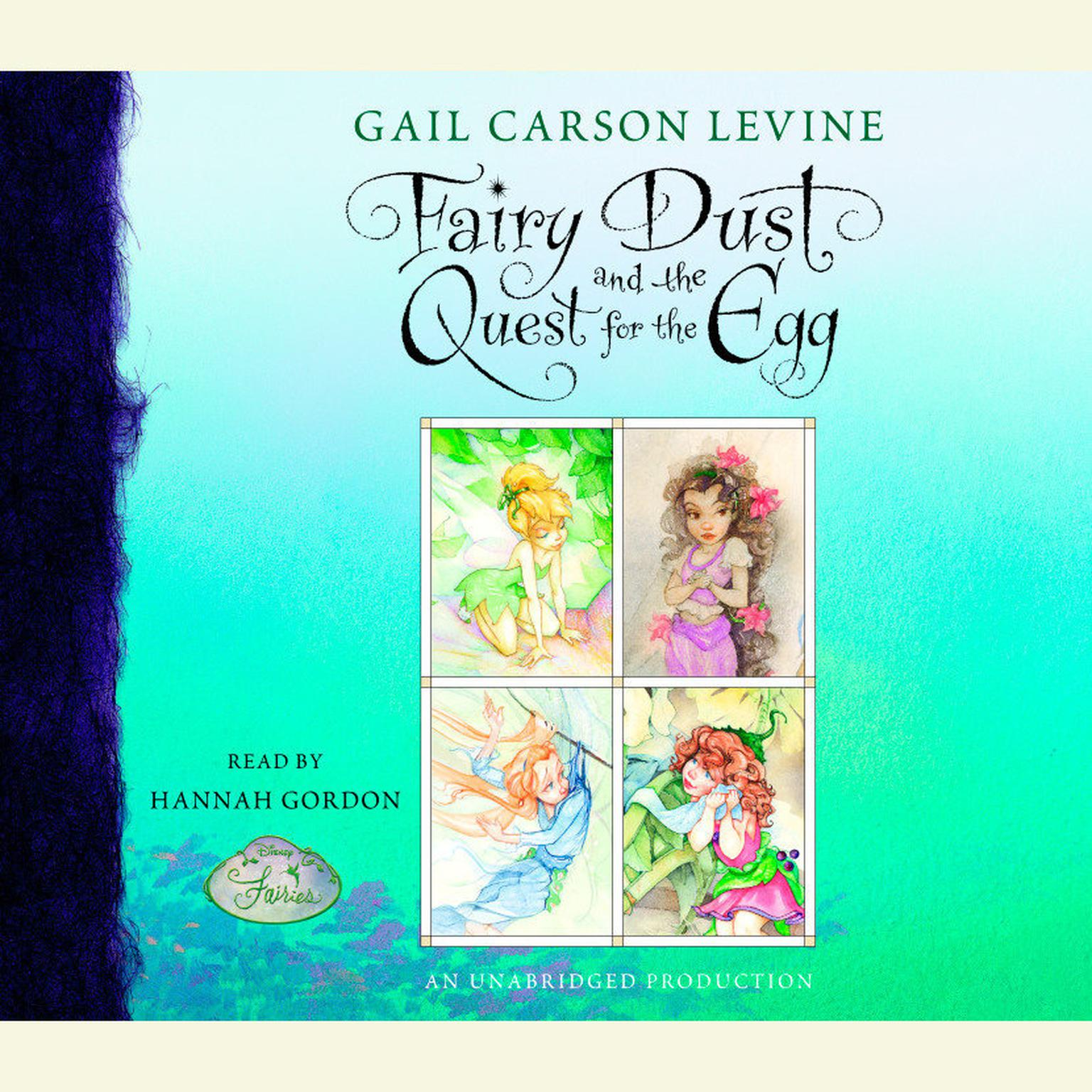 Printable Fairy Dust and the Quest for the Egg Audiobook Cover Art