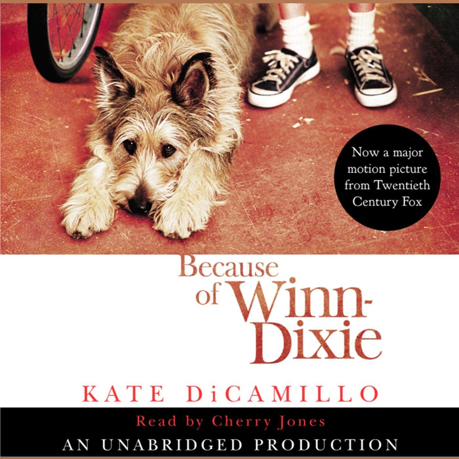 Printable Because of Winn-Dixie Audiobook Cover Art