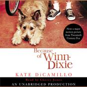 Because of Winn-Dixie, by Kate DiCamillo