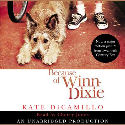Because of Winn-Dixie Audiobook, by Kate DiCamillo