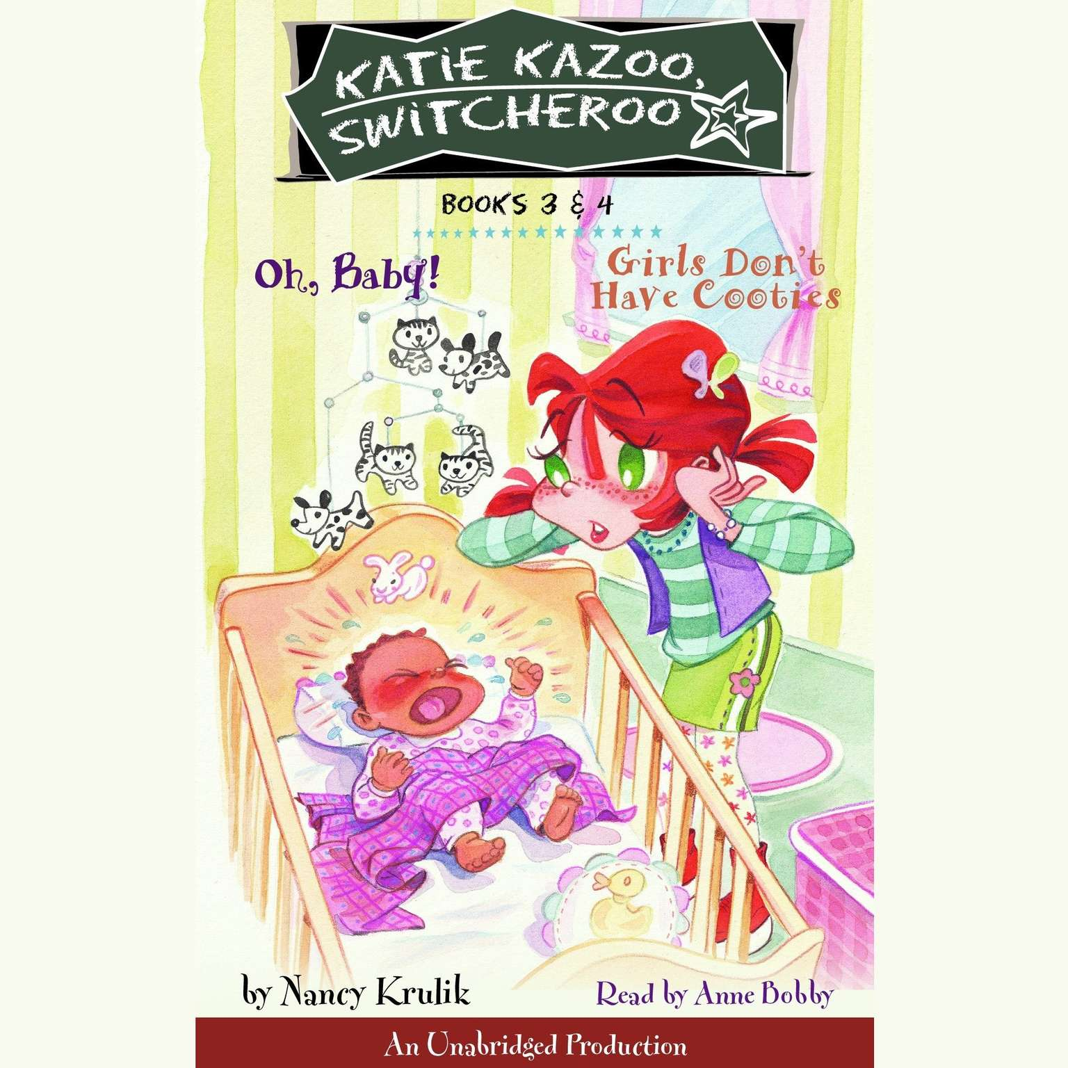 Printable Katie Kazoo, Switcheroo: Books 3 & 4 Audiobook Cover Art