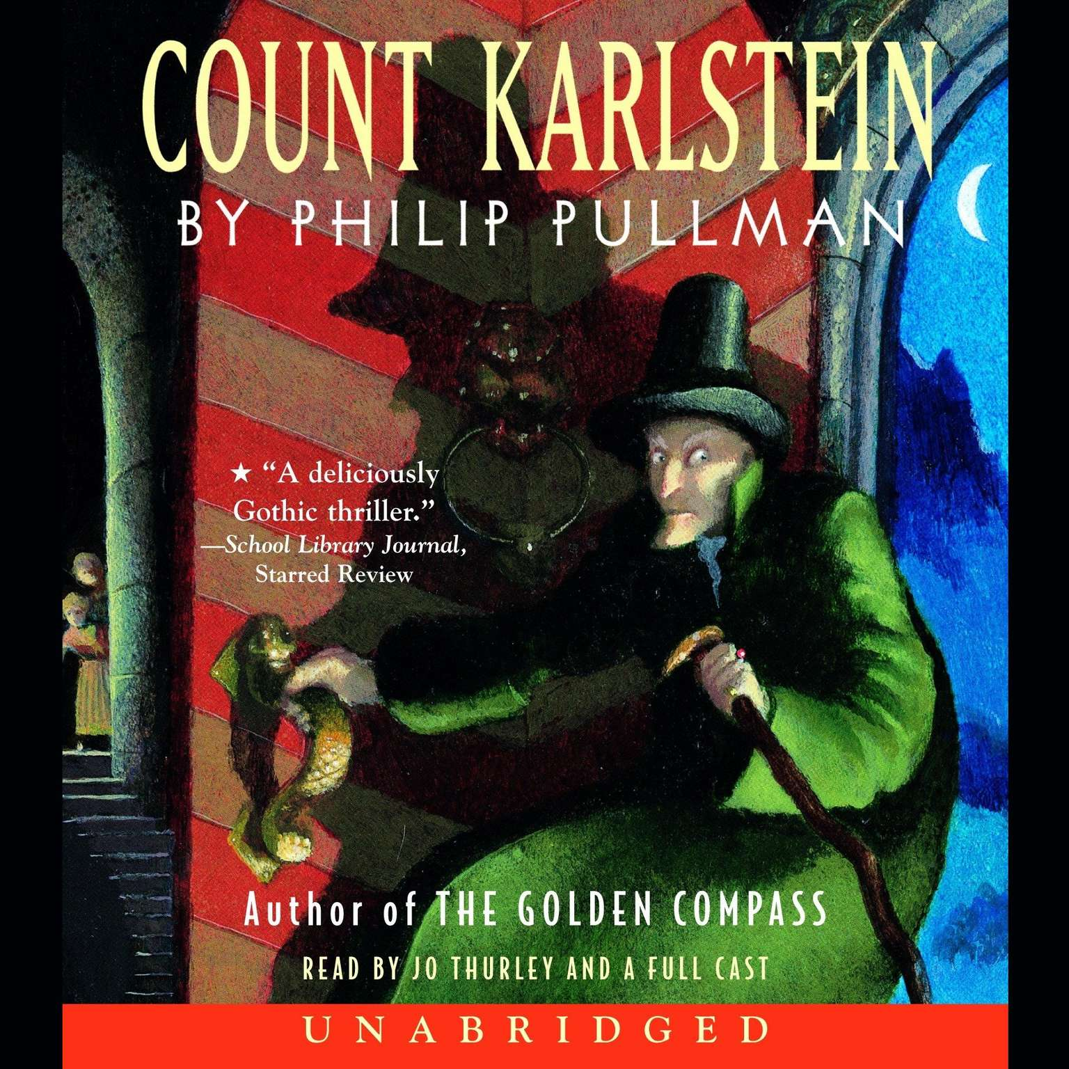 Printable Count Karlstein Audiobook Cover Art
