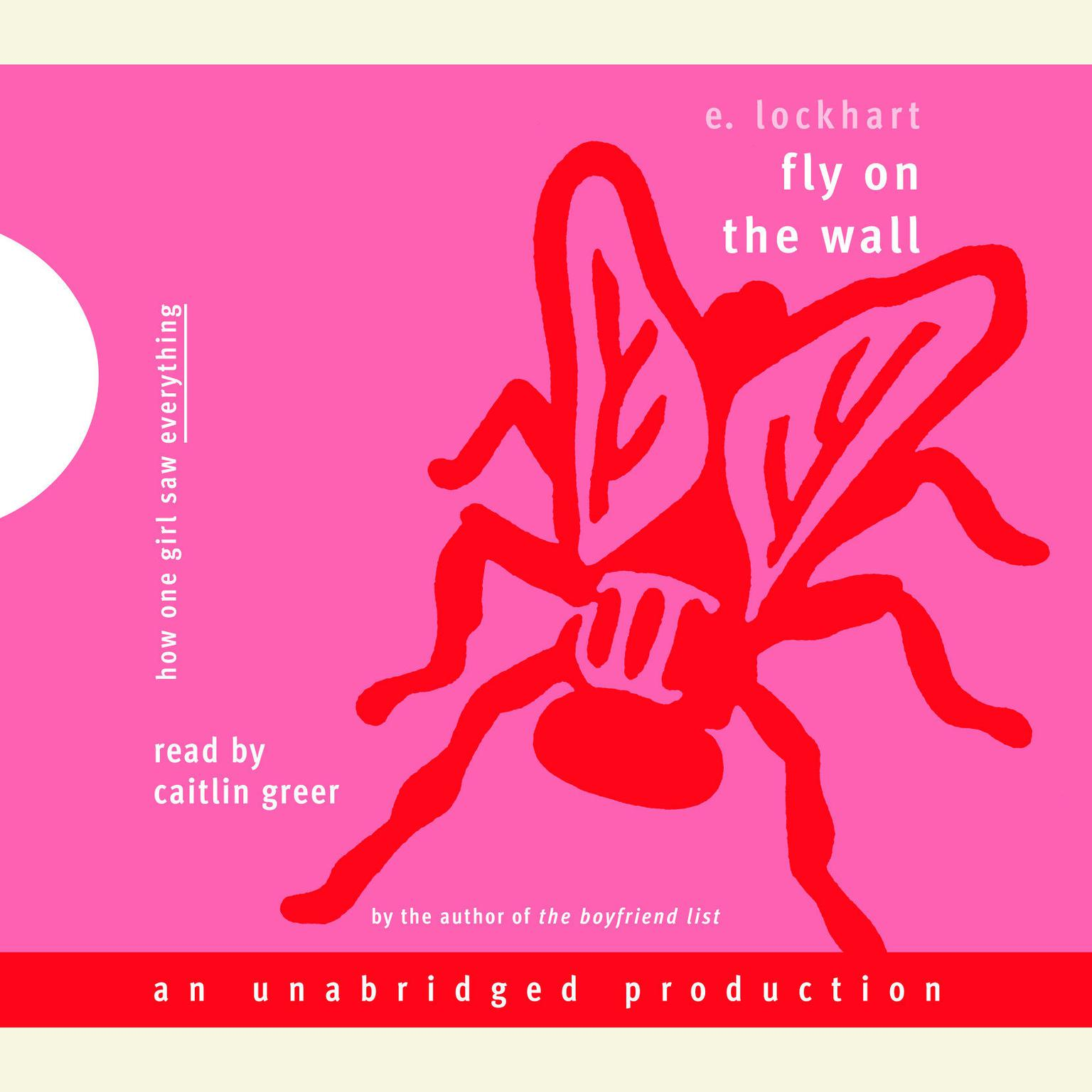 Printable Fly on the Wall Audiobook Cover Art