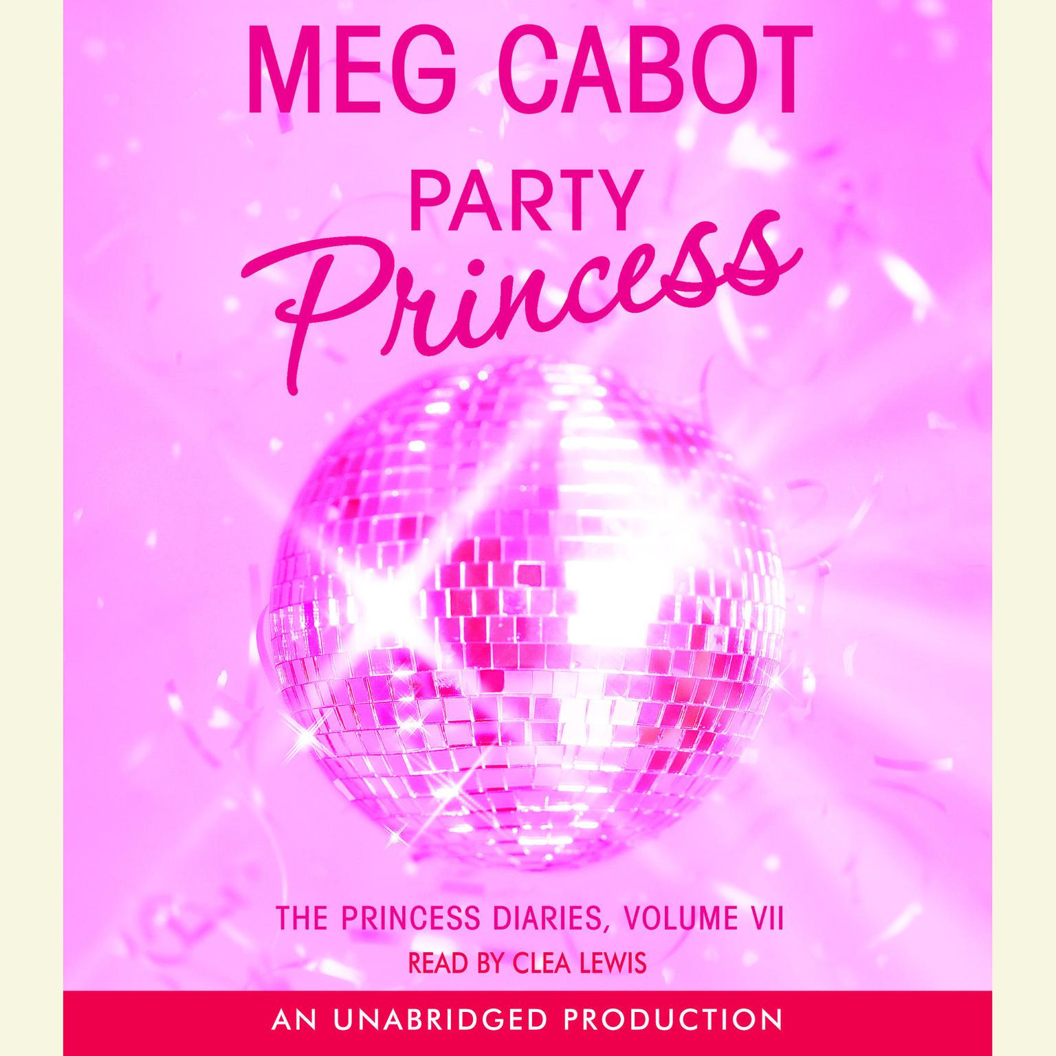 Printable Party Princess Audiobook Cover Art