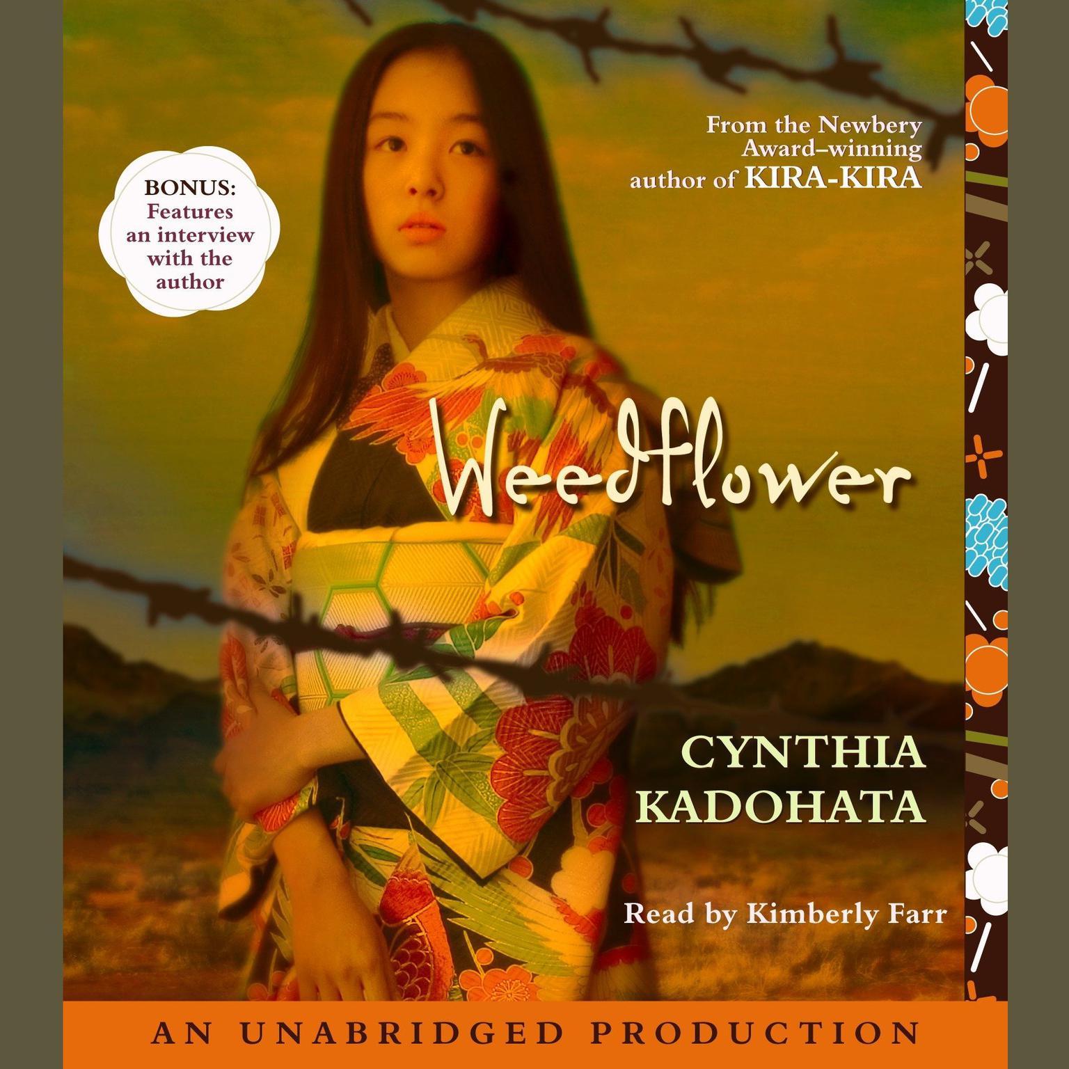 Printable Weedflower Audiobook Cover Art