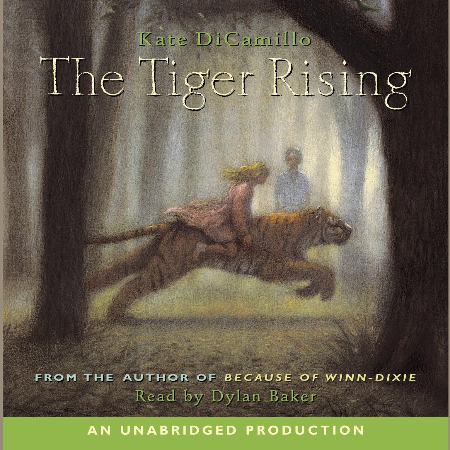 Printable The Tiger Rising Audiobook Cover Art