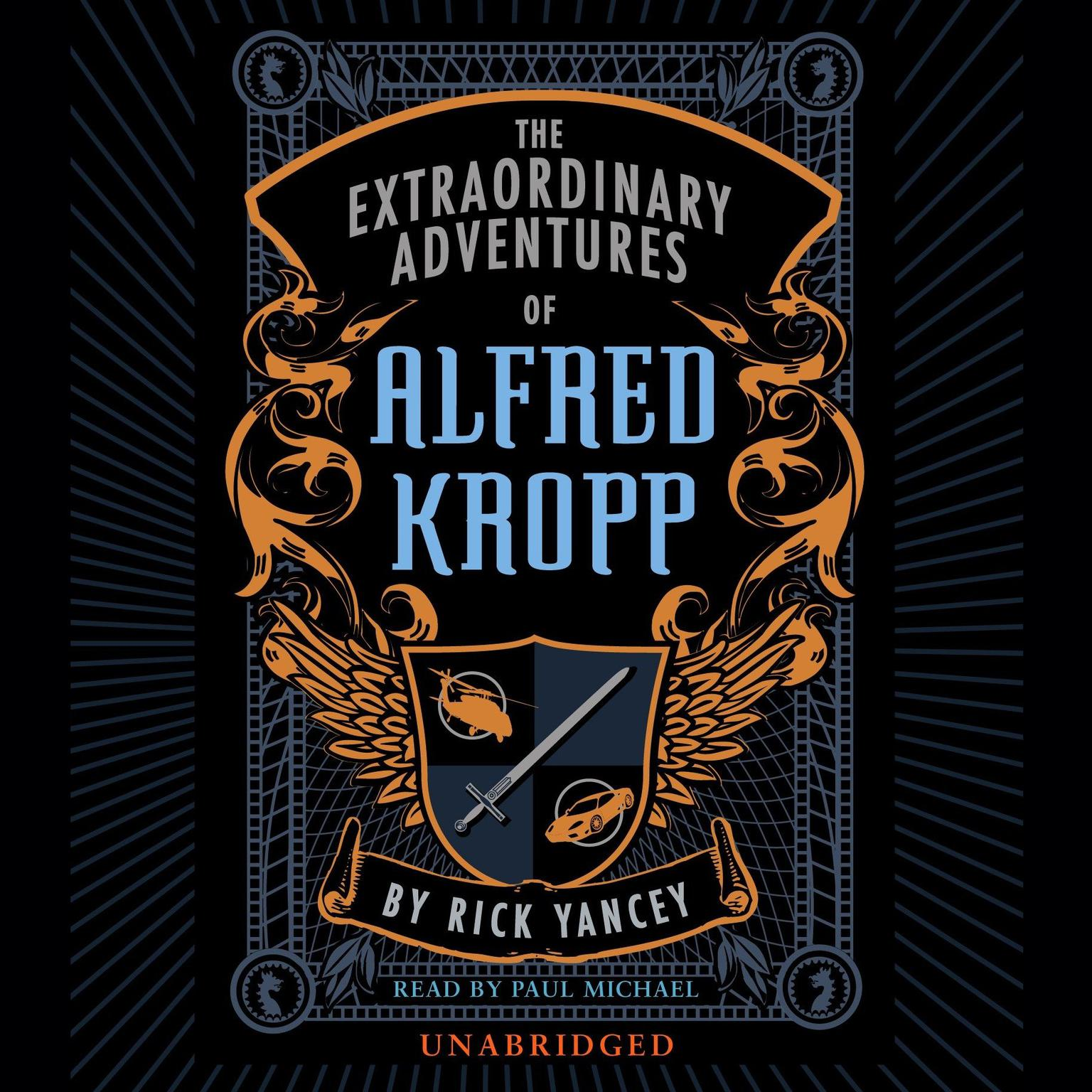 Printable The Extraordinary Adventures of Alfred Kropp Audiobook Cover Art
