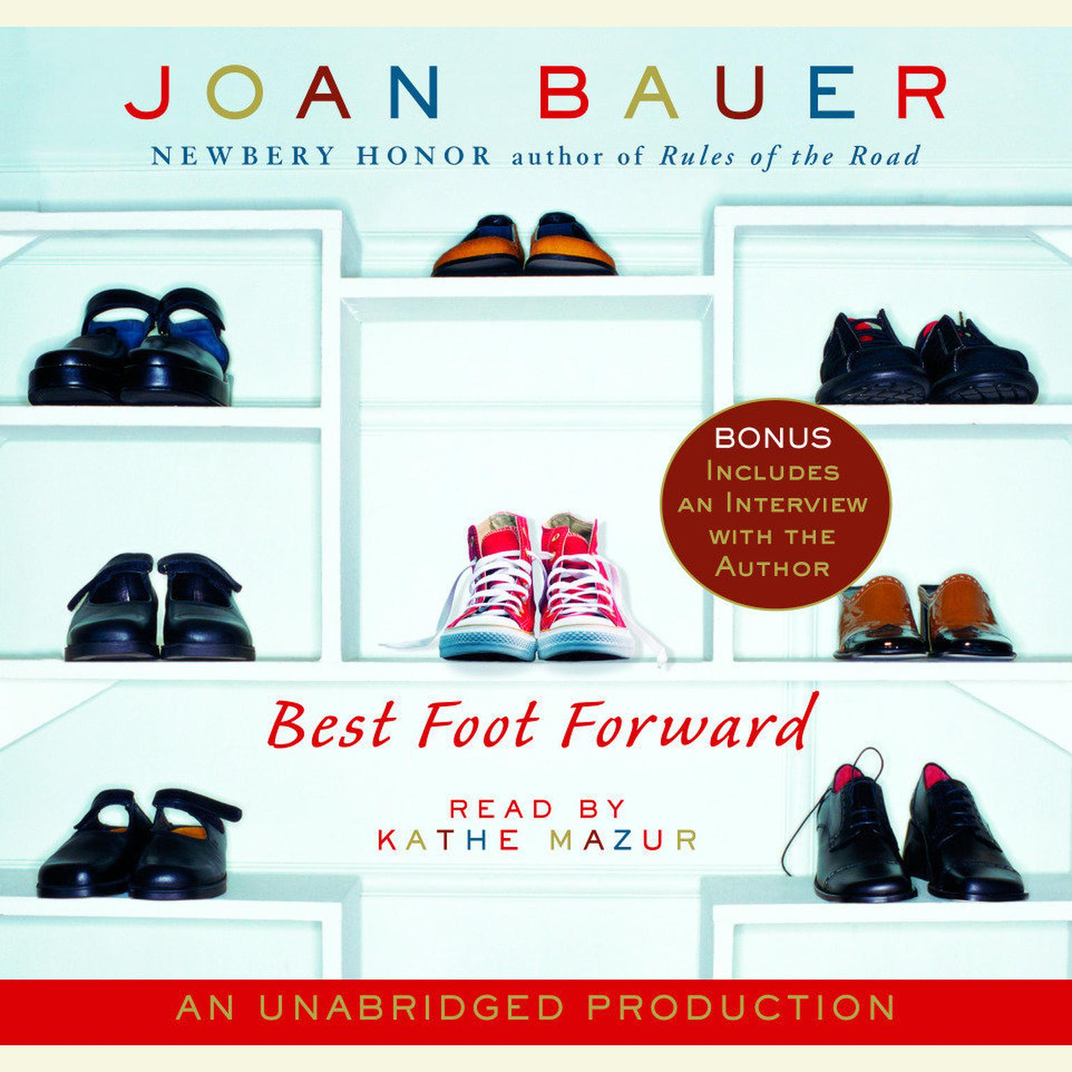 Printable Best Foot Forward Audiobook Cover Art