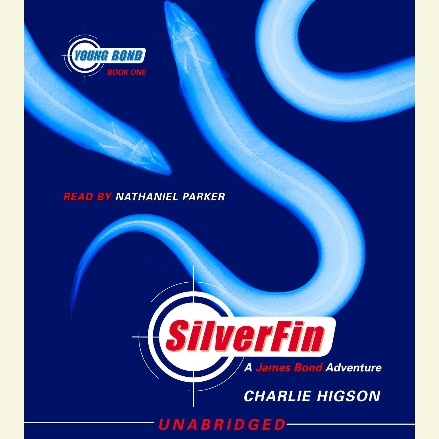 Printable SilverFin Audiobook Cover Art