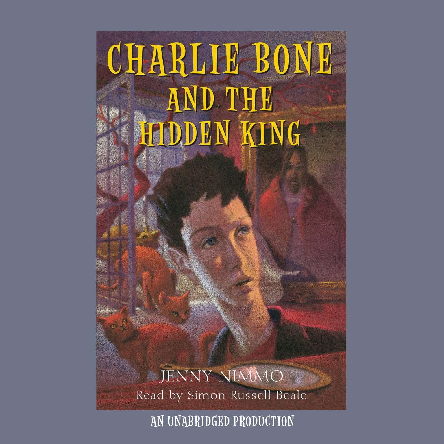 Printable Charlie Bone and the Hidden King Audiobook Cover Art