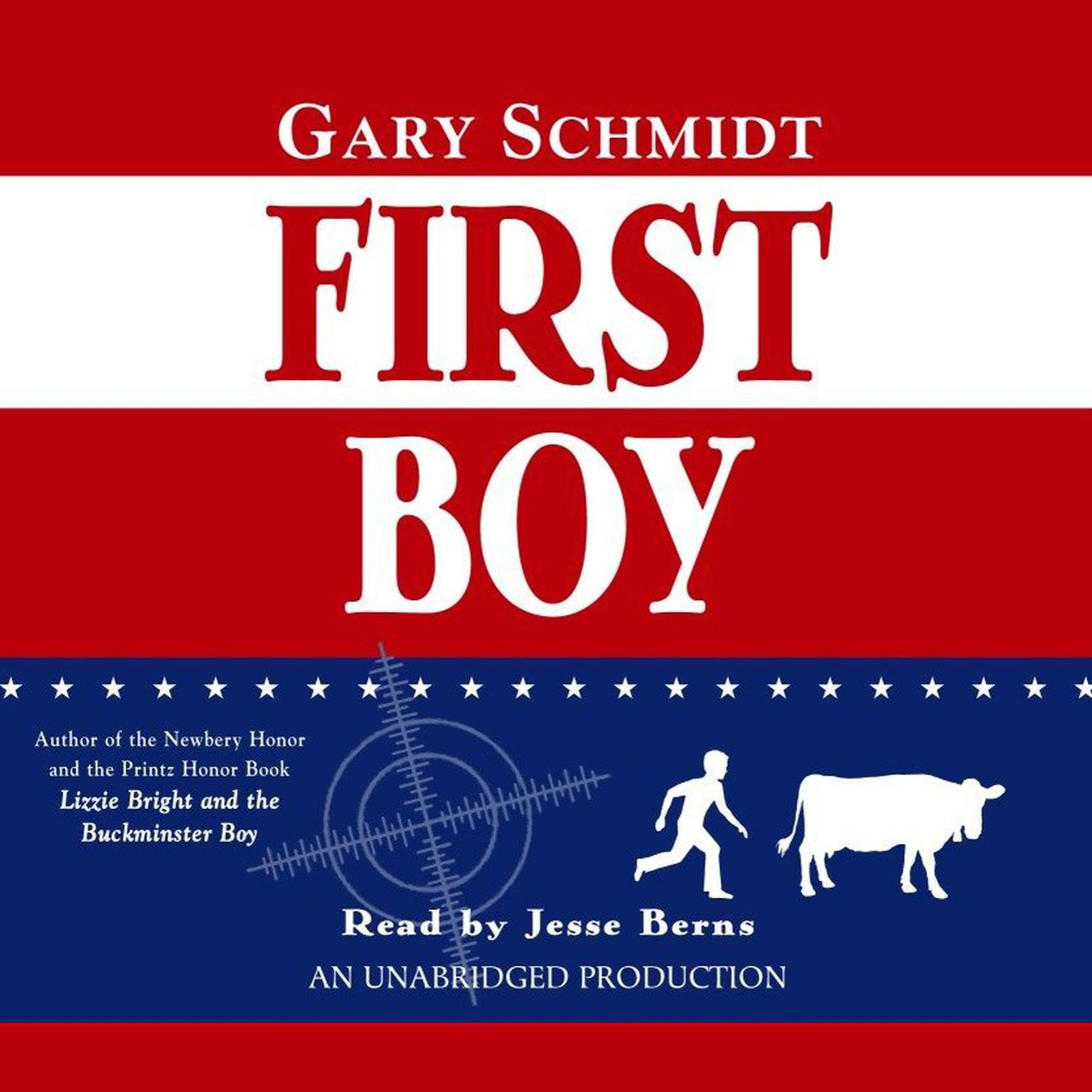 Printable First Boy Audiobook Cover Art