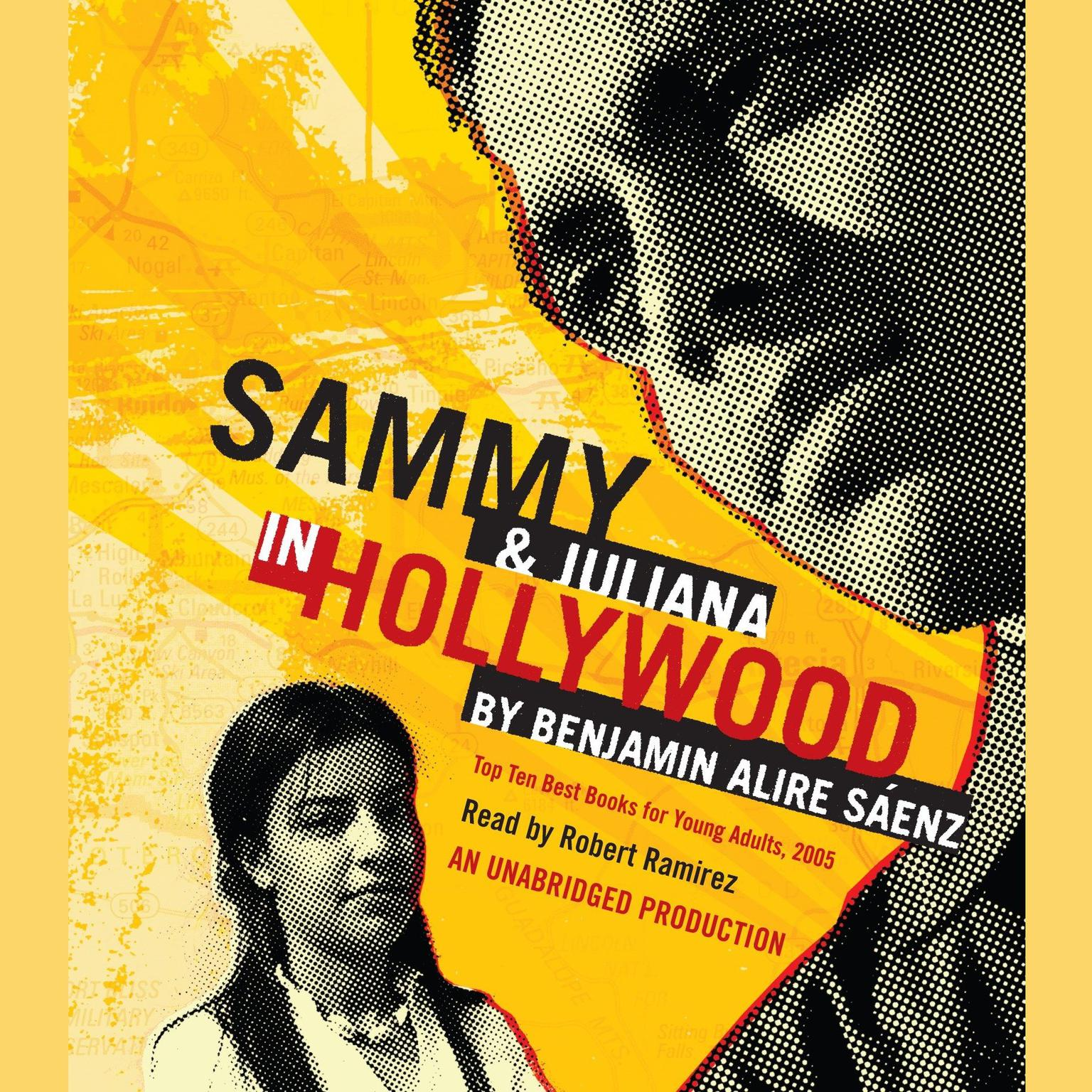 Printable Sammy and Juliana in Hollywood Audiobook Cover Art