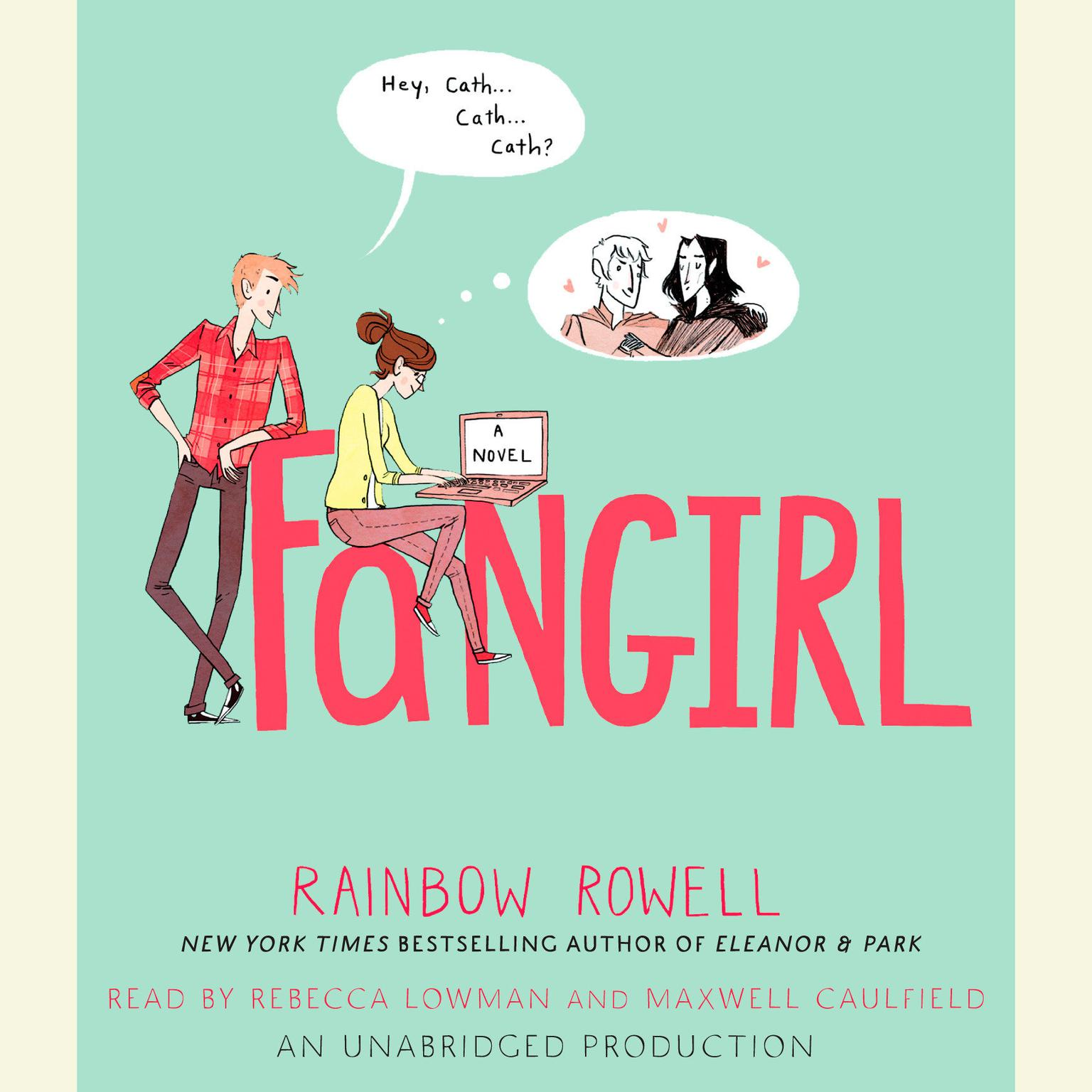 Printable Fangirl Audiobook Cover Art