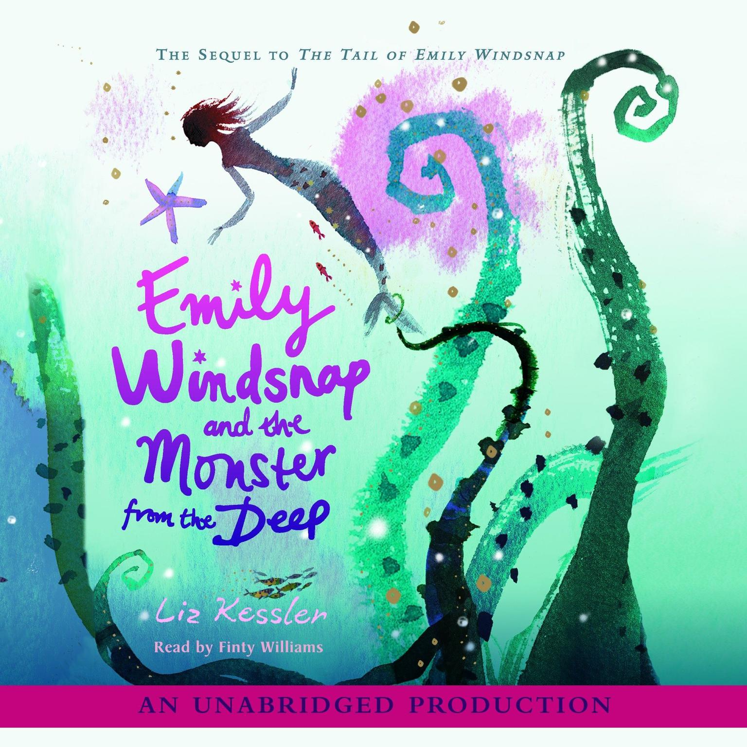 Printable Emily Windsnap and the Monster from the Deep Audiobook Cover Art
