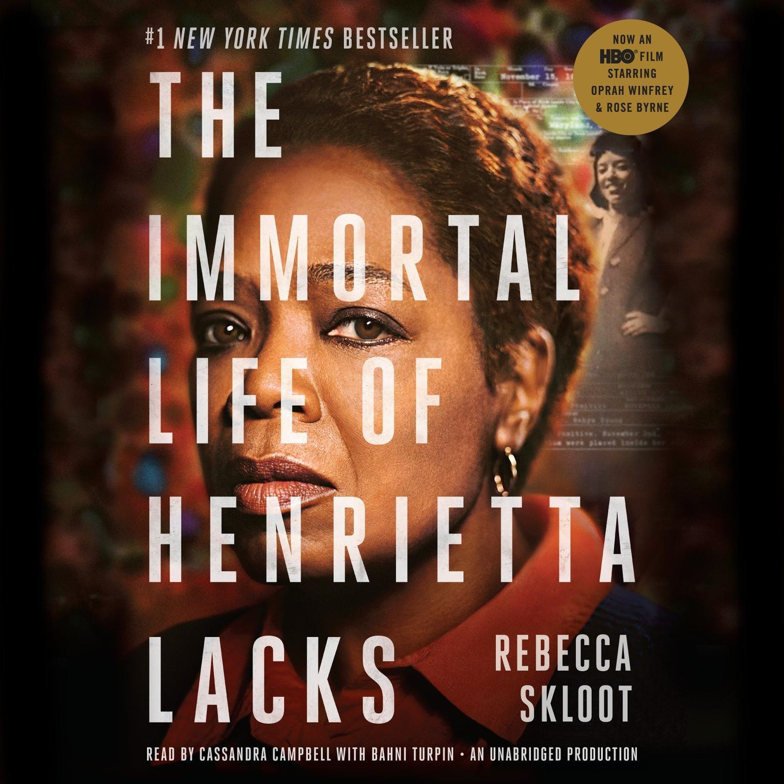 Printable The Immortal Life of Henrietta Lacks Audiobook Cover Art