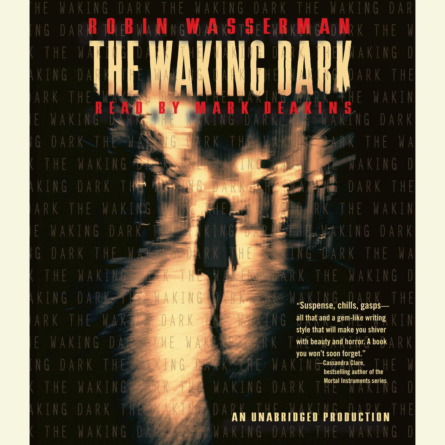 Printable The Waking Dark Audiobook Cover Art
