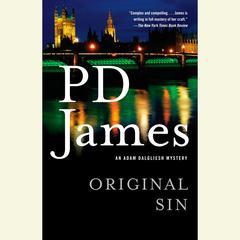 Original Sin Audiobook, by P. D. James