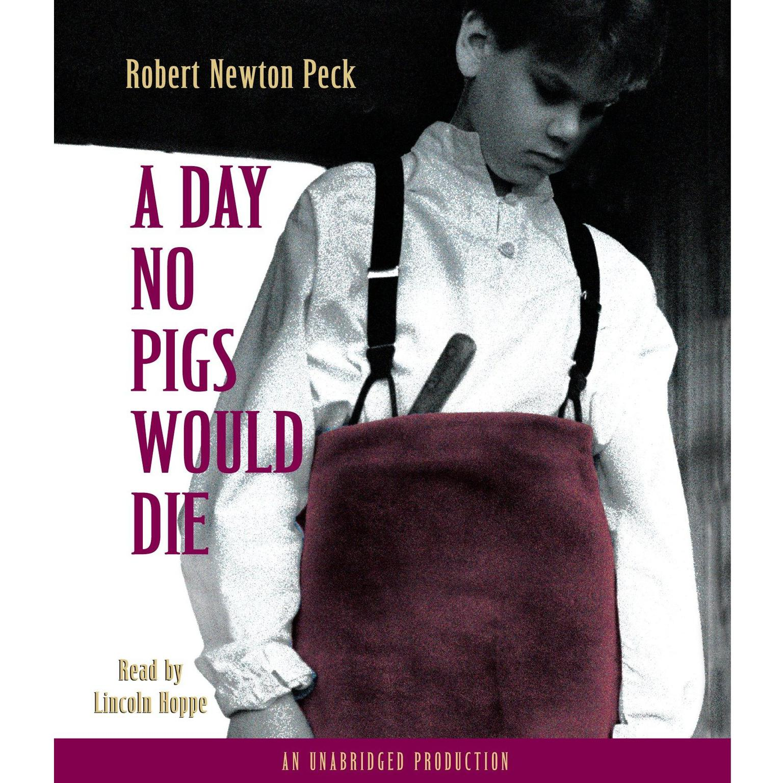 Printable A Day No Pigs Would Die Audiobook Cover Art