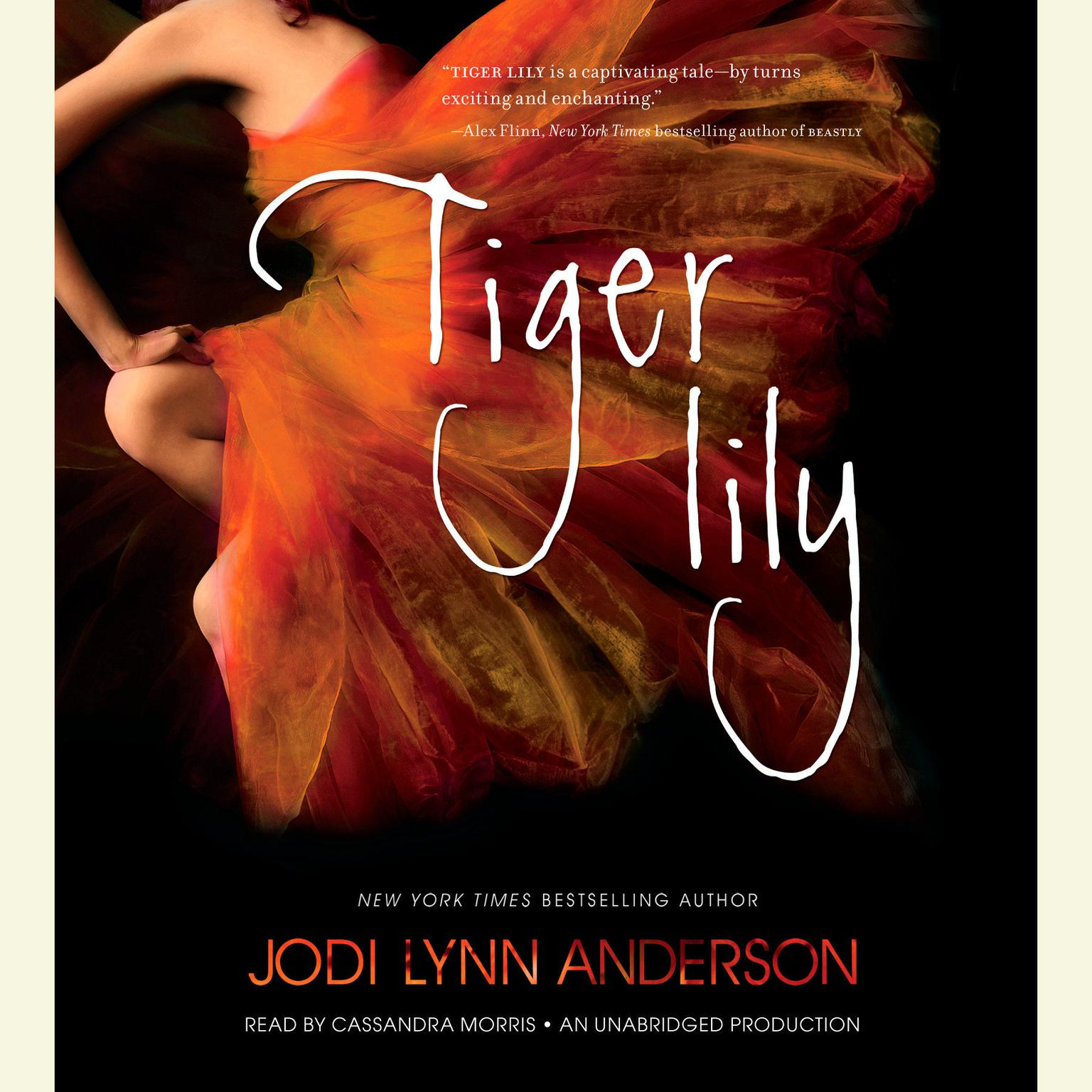 Printable Tiger Lily Audiobook Cover Art