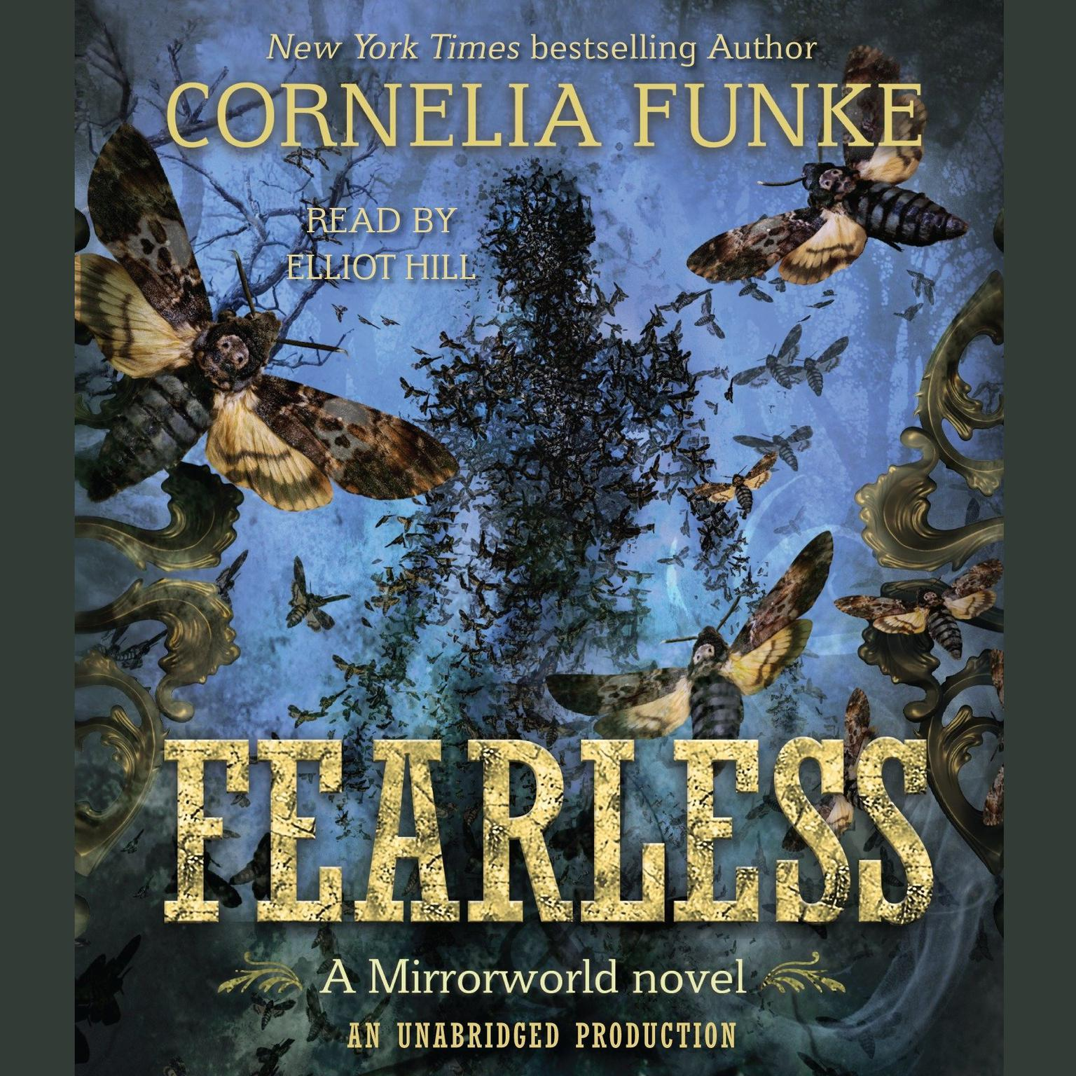 Printable Fearless: Mirrorworld Audiobook Cover Art